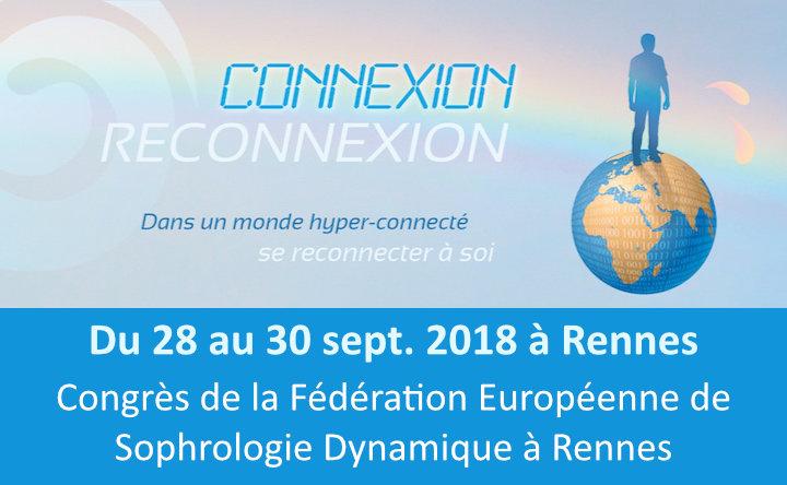 Congrès de la FESD à Rennes - Congrès de la Fédération Européenne de Sophrologie Dynamique à Rennes