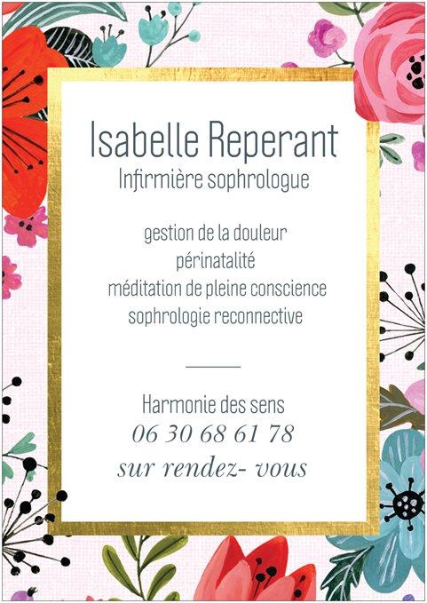 Isabelle Reperant sophrologie  : infos, localisation, contacts... pour ce centre de sophrologie